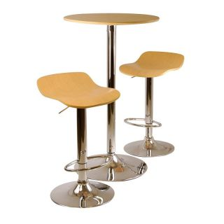 Winsome Kallie 3 Piece Pub Table Set   Pub Tables