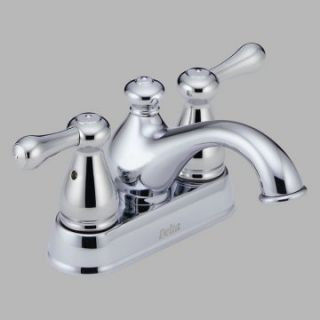 Delta Leland 2578LF Double Handle Centerset Bathroom Sink Faucet   Bathroom Sink Faucets