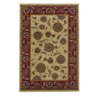 Kas Rugs Lifestyle 5435   Ivory/Red Kashan   DO NOT USE