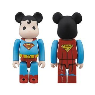 2013 SDCC EXCLUSIVE Bearbrick DC Super Powers Superman Action Figure Toys & Games