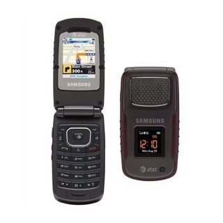 Samsung SGH A837 Rugby unlocked cell phone rugged Burgundy Cell Phones & Accessories