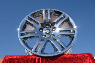 Jaguar XK8/XKRHydra Set of 4 genuine factory 18inch chrome wheels Automotive
