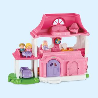 Fisher Price Little People Happy Sounds Home   Toy Dollhouses