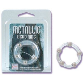 Bundle Package Of Metallic Bead Ring And Anti bacterial Toy Cleaner 4.3oz. And a K Y Jelly 2oz. Tube Health & Personal Care