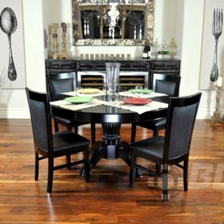BBO Poker Tables Nighthawk 6 Piece Dining Table Set   Poker Tables