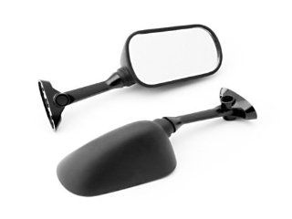 (2000 2012) Suzuki GSXR 600 / 750 / 1000 Black OEM Stock Style Racing Mirrors   Left & Right Set Automotive
