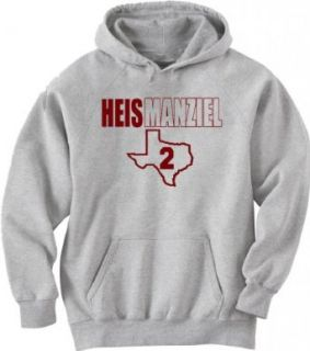 Shedd Shirts Men's Johnny Manziel Texas a & M Hooded Sweatshirt Clothing