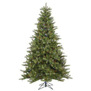 7.5' Pre Lit King Spruce Artificial Christmas Tree   Dura Lit Multi Color Lights