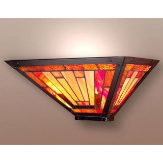 Dale Tiffany Mission Wall Sconce   15W in. Bronze   Tiffany Wall Lights