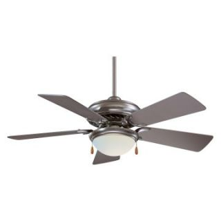 Minka Aire F563 SP Supra 44 in. Indoor Ceiling Fan   Brushed Steel   Ceiling Fans