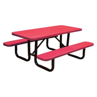 Standard Perforated Commercial Grade Picnic Tables   Picnic Tables