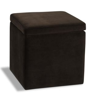 Avenue Six Detour Storage Cube with Tray   Ottomans