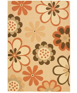 Safavieh Courtyard CY4035C Area Rug Natural Brown/Terracotta   Area Rugs