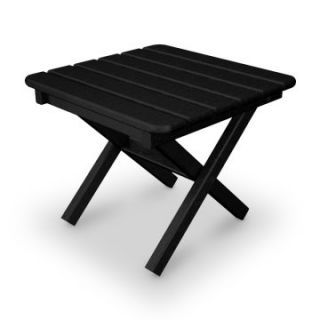 POLYWOOD® Recycled Plastic Traditional Square Side Table   Small   Adirondack Furniture