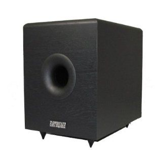 "8"" Earthquake Down Firing Home Theater Powered Subwoofer SUB 80X Electronics"