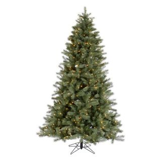 Blue Albany Pre lit Spruce Christmas Tree   Christmas Trees
