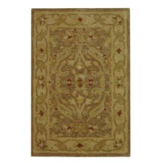Safavieh Antiquities AT311A Area Rug   Brown/Gold   Area Rugs