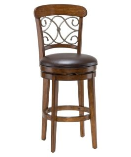 Hillsdale Bergamo 26 in. Swivel Counter Stool   Bar Stools