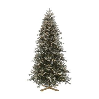 7.5 ft. Frosted Balsam Fir Pre Lit Christmas Tree   Christmas Trees