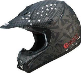 G Max GM46X 1 Revurb Helmet , Distinct Name Revurb Matte Black/Silver, Gender Mens/Unisex, Helmet Category Offroad, Helmet Type Offroad Helmets, Primary Color Black, Size XL G3462577 F.TC 17 Automotive