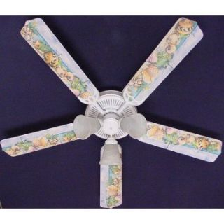 Ceiling Fan Designers Sea Shells Beach Sand Lighthouse Indoor Ceiling Fan   Ceiling Fans