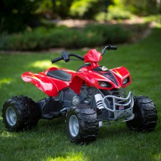 Fisher Price Power Wheels Kawasaki KFX ATV Battery Powered Riding Toy   Red   Battery Powered Riding Toys