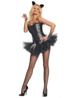 Adult Costume Sexy Kitty Md Halloween Costume   Adult Medium Adult Sized Costumes Clothing