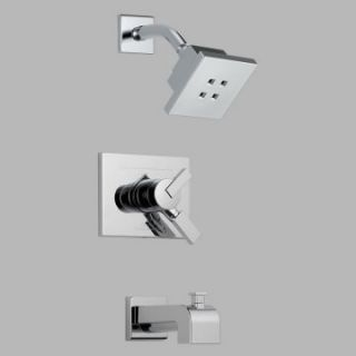 Delta Vero T17453 H2O Monitor 17 Series Wall Mount Tub and Shower Trim Set   Bathtub Faucets
