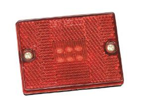 Bargman Lights 4242401 #42 Red LED Clearance Light Automotive