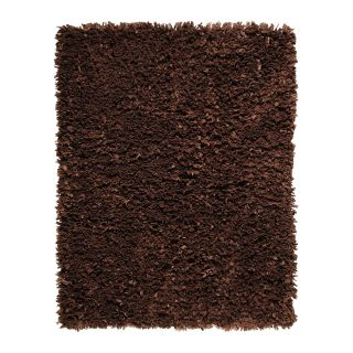 Anji Mountain AMB0450 Kakao Recycled Paper Shag Area Rug Do Not Use