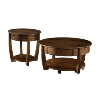 Hammary Concierge 2 Piece Round Coffee Table Set   Coffee Table Sets