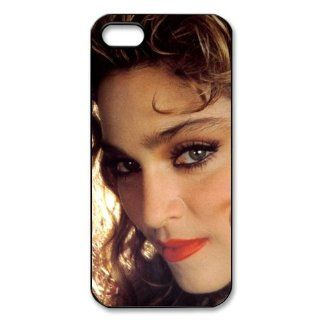 Custom Madonna Back Cover Case for iPhone 5 5s PP 0223 Cell Phones & Accessories