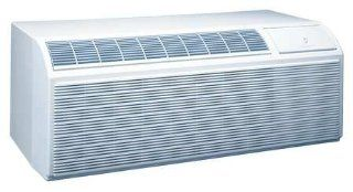 PDH15K5SF Packaged Terminal Air Conditioner Heat Pump With Electric Heat Cooling 15 000/14 600 BtuH Power Cord Length 5 Ft. Requires Wall Sleeve and Exterior Grille for New   Electric Household Window Fans