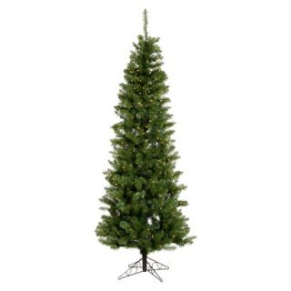 4.5 Pre Lit LED Salem Pencil Tree   Warm White Lights