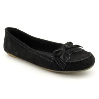 Minnetonka Women's Kathleen Kitty Suede Moccasins Shoes