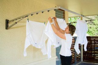 Hills (Pebble Beach) Folding Frame Clothesline Dryer Supa Fold 210   Indoor/outdoor   Clothes Lines