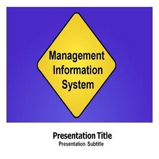 Management Information System Powerpoint Templates   PPT Template on Management Information System Software