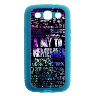 Merry Christmas Popular Rock Band ADTR A Day To Remember Silicone SamSung Galaxy S3 I9300 Case, Best Durable A Day To Remember Galaxy S3 Case Electronics