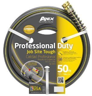 Apex 5/8 Inch by 50 Foot Commercial Water Hose 888VR (Discontinued by Manufacturer)  Garden Hoses  Patio, Lawn & Garden