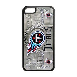 Unique Design NFL Tennessee Titans Iphone 5C Plastic And TPU Silicone Back Wearproof & Sleek Case Cover Computers & Accessories