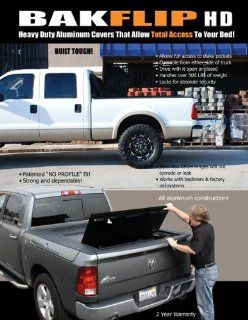 2010 2011 Ford F150 Raptor Ext Cab/Super Crew Tonneau Cover   BAK Industries Bakflip HD 35309F HARD FOLDING TONNEAU COVER Automotive