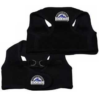 Colorado Rockies Pet Dog Mesh Vest Harness SMALL/MEDIUM