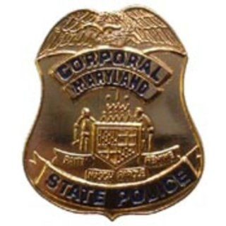 "Maryland State Police Badge Pin 1"" Sports & Outdoors"