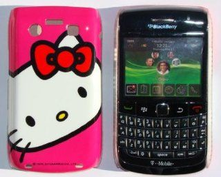 BLACKBERRY BOLD 9700 HOT PINK HELLO KITTY SLIM SNAP ON BACK COVER CASE
