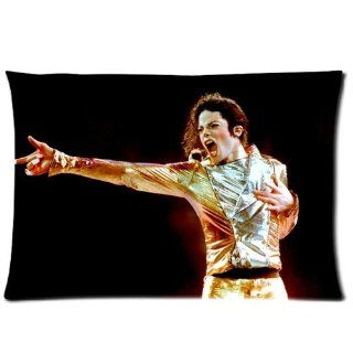 "Custom Michael Jackson Pillowcase 20""x30"" Pillow Protector Cover WPC 916"