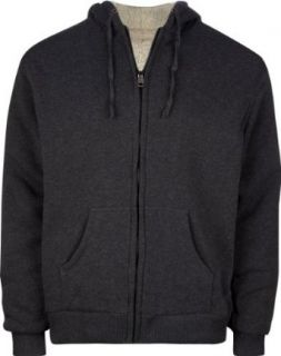 KENPO Sherpa Lined Mens Hoodie at  Men�s Clothing store Fashion Hoodies