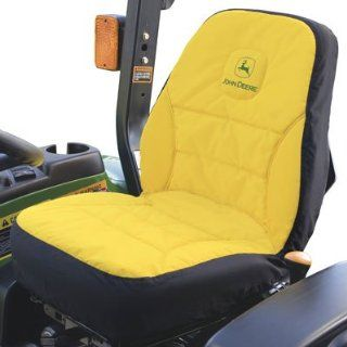 "John Deere 15"" Seat Cover for Compact Utility Tractors (Medium) #LP95223 for Series 3032E, 3038E, 3203"