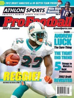 2012 Athlon Sports NFL Pro Football Magazine Preview  Miami Dolphins Cover  Sports Fan Prints And Posters  Sports & Outdoors