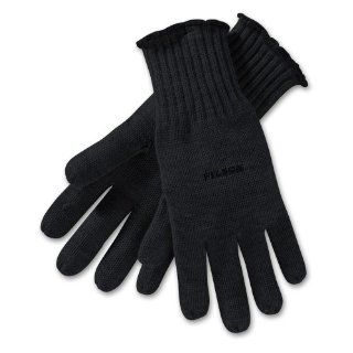 Filson Merino Wool Full Fingered Gloves   Black   Medium  Cold Weather Gloves  Sports & Outdoors