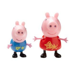 Peppa Pig Theme Park Figures 2 Pack With Peppa & George Toys & Games